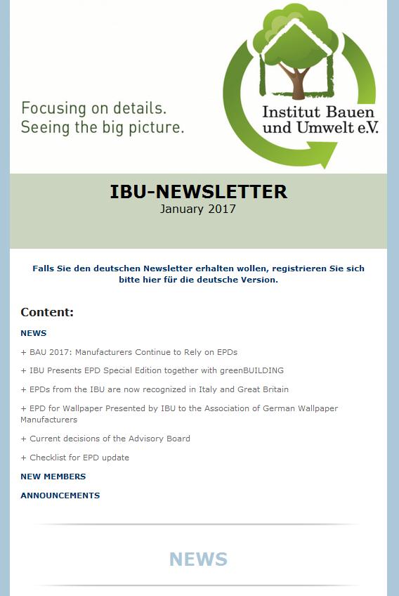 IBU Newsletter 2017-en