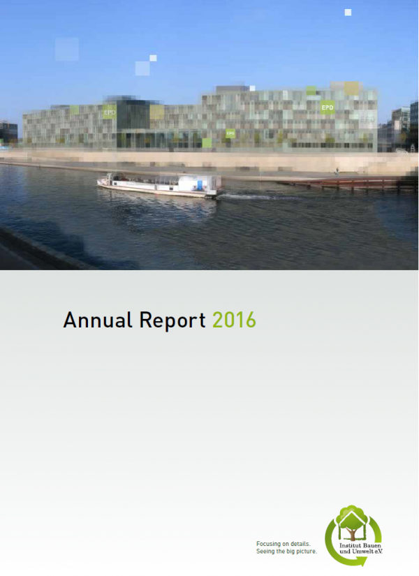 Annual Report 2016 of the IBU was presented
