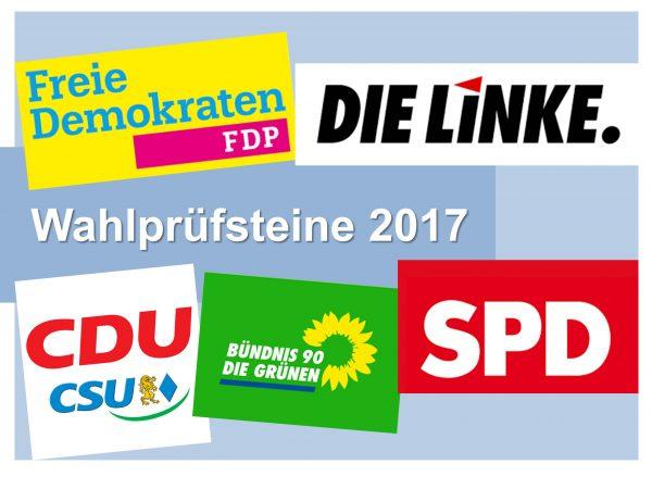 Wahlprüfsteine 2017