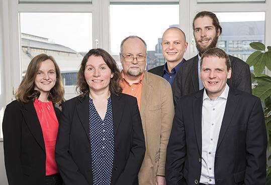 Das Team der Geschäftsstelle
