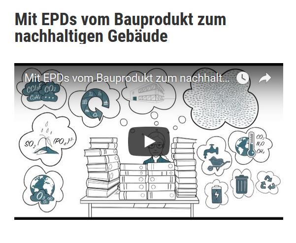 Mit EPD zum nachhaltigen Gebäude